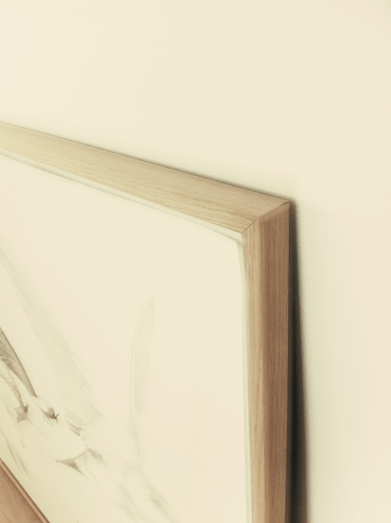 """""""Your time will come"""" - Anna Bülow (detail of frame)"""