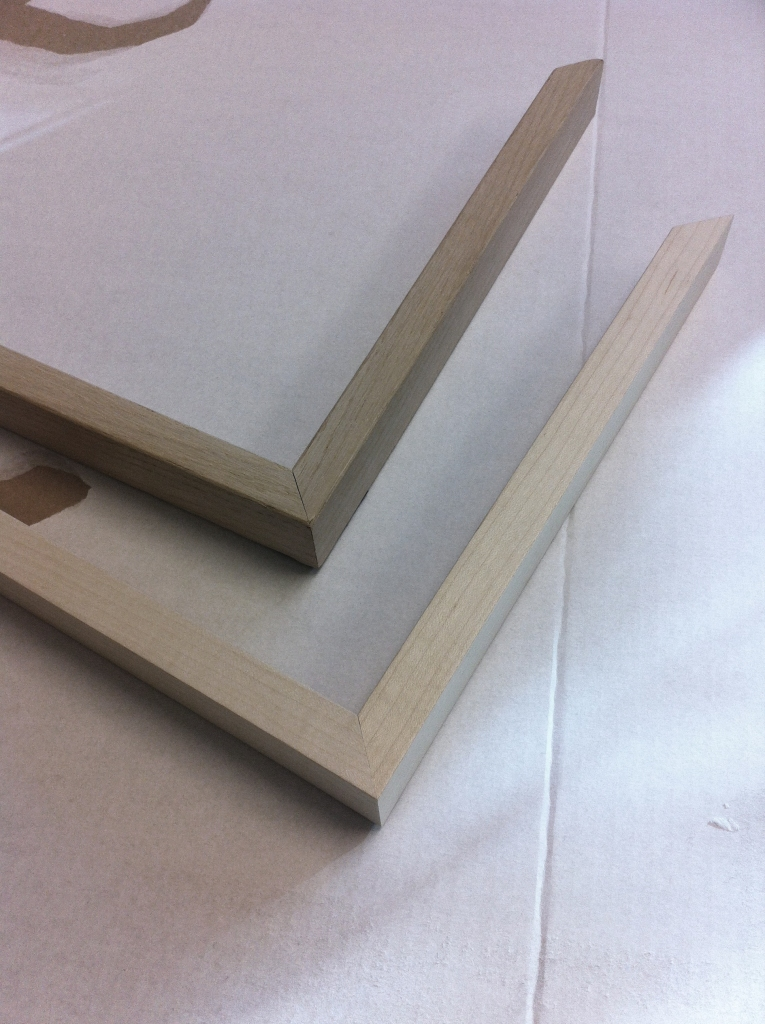 Simple but beautiful oak frames