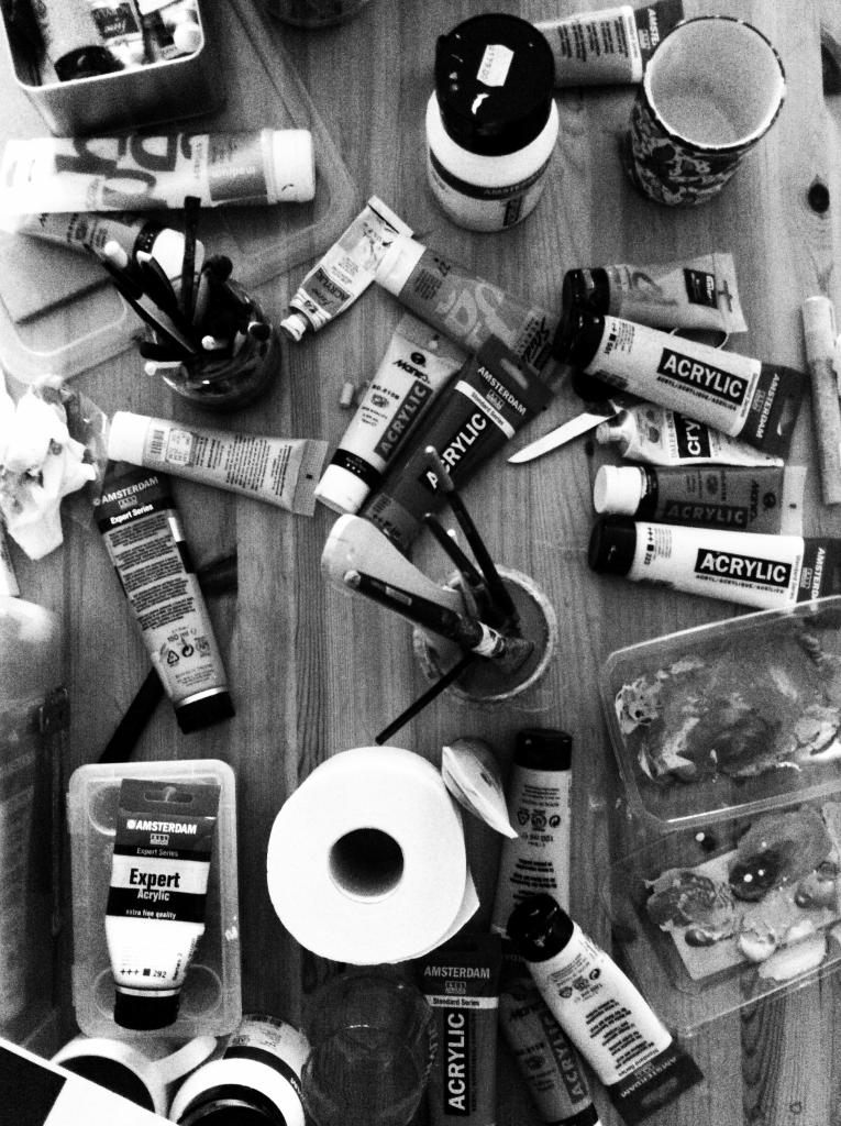 Studio mess