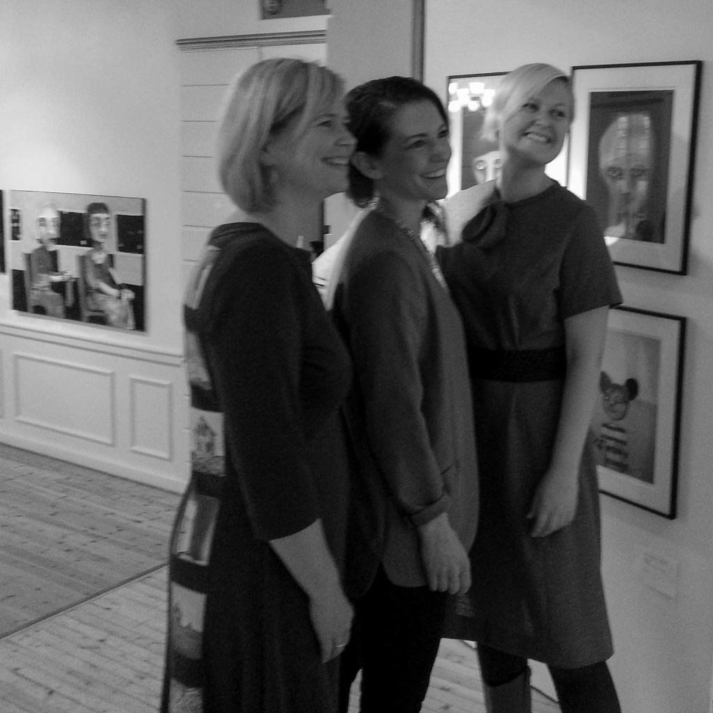 Hanne Jørgensen, Anna Bülow, Kari Anne Marstein Galleri Festiviteten 2014