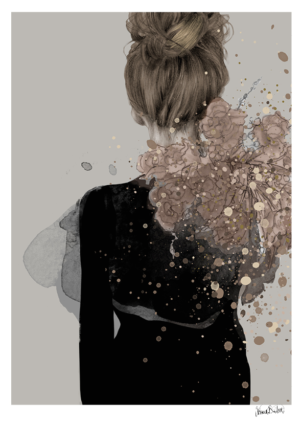 """Helene"" Limited edition poster By Anna Bülow"